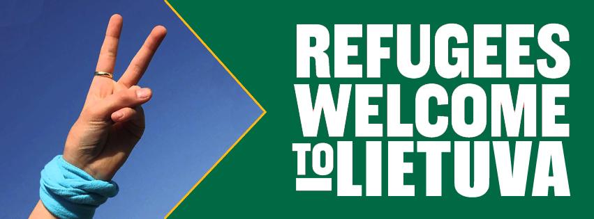 Palaikykime pabėgėlius