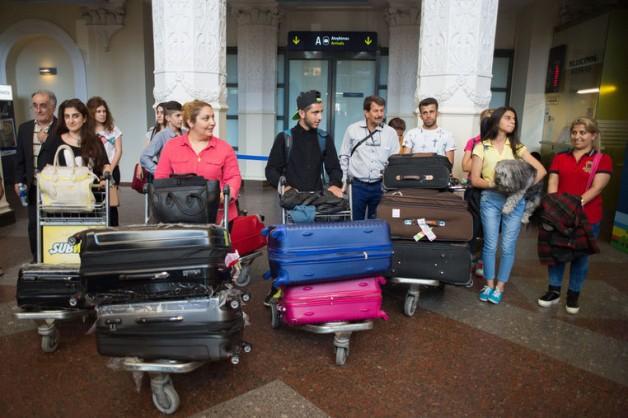 Į Lietuvą perkelti dar aštuoni pabėgėliai